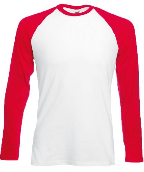 CHOOSE DESIGN - RED LONG SLEEVE